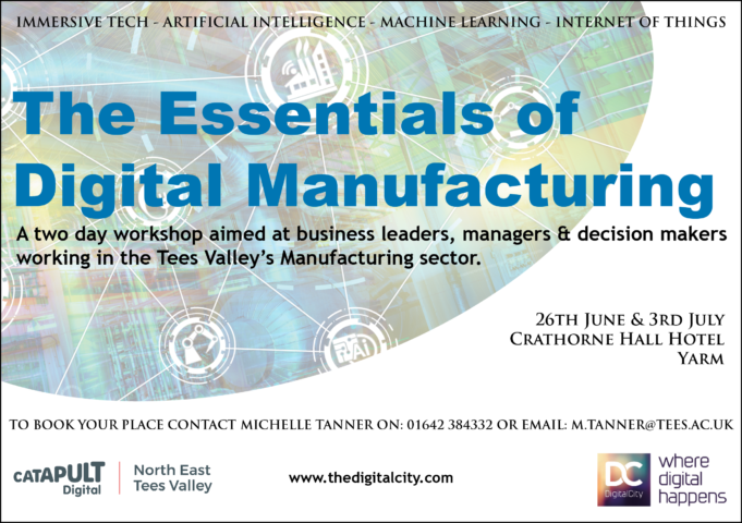 The Essentials of Digital Manufacturing – Two Day Workshop